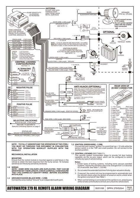 autowatch car alarm 436 wiring diagrams wiring diagram