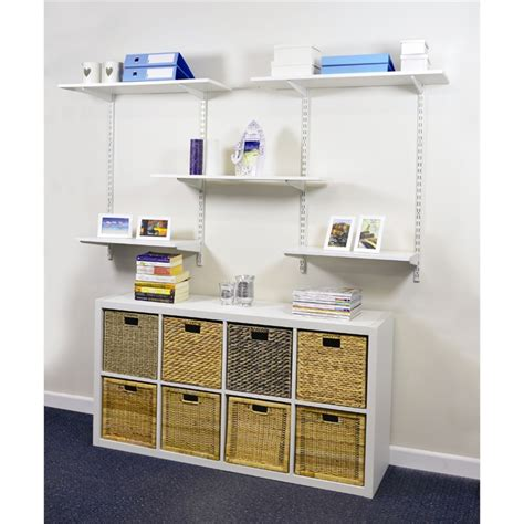 Handy Shelf handy shelf melamine shelving 1200x250x16mm white