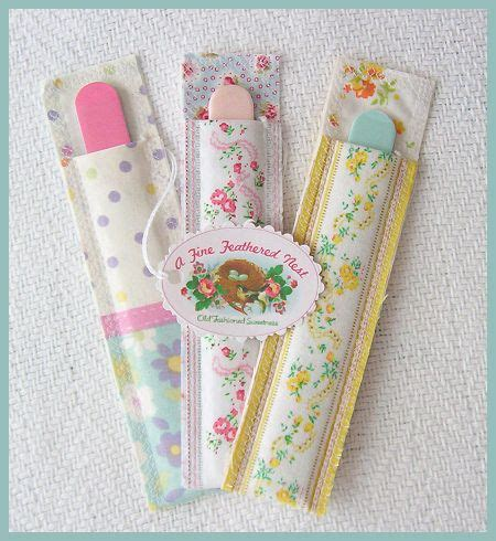 emery board nail file sleeves christmas gifts board and