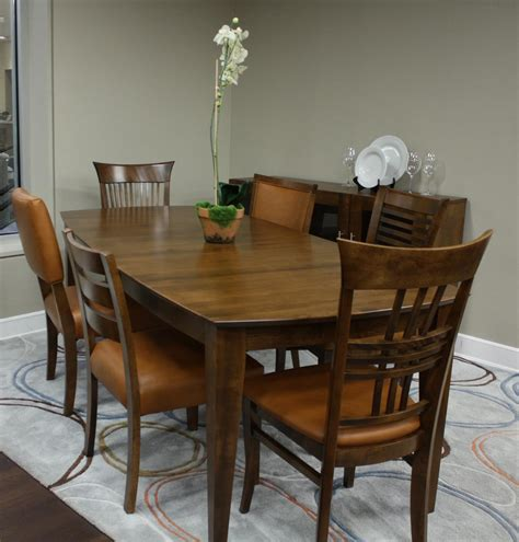 custom dining room sets canadel custom dining dining room set customdinepkg2