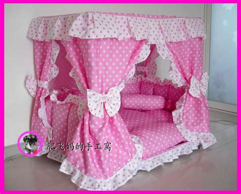 Handmade Princess Bed - charm princess pet cat handmade bed house kennel 1