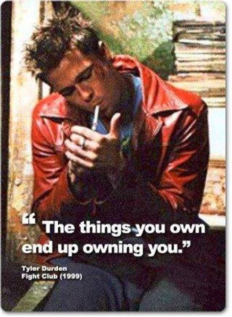 Tyler Durden Meme - the reason you work so hard to participate in the rat race