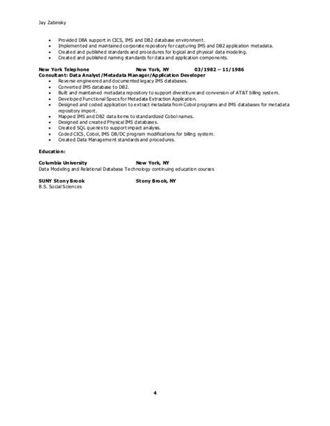 data modeler resume senior data modeler resume
