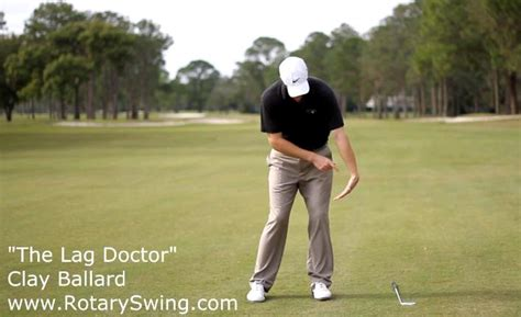 how to get lag in your golf swing increase your forward shaft lean with this exaggerated lag
