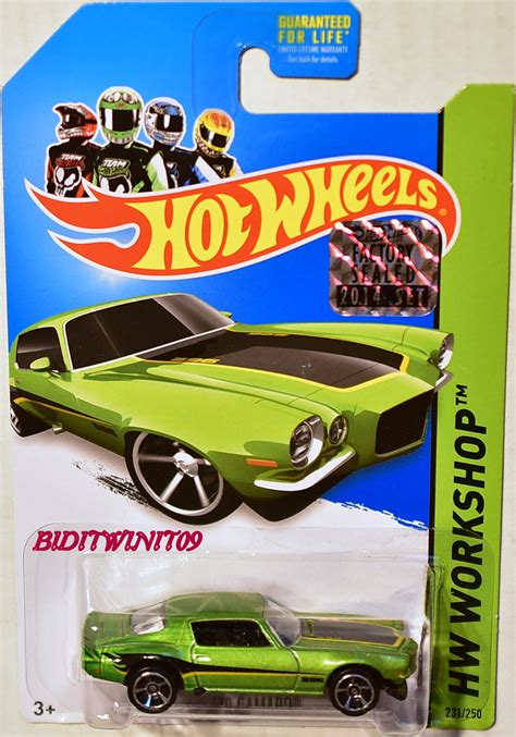 Hotwheels Factory Sealed 2017 The Mystery Machine wheels 2014 hw workshop 70 camaro factory sealed 0003634 3 02 biditwinit09