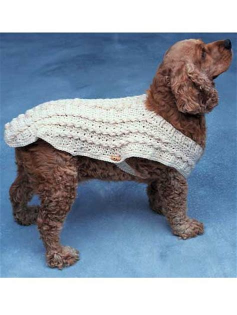 crochet pattern for large dog coat crochet miscellaneous crochet accessories doggie duds
