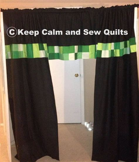 curtains in minecraft minecraft creeper inspired curtains and by