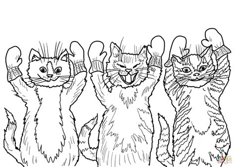 the three little kittens they found their mittens