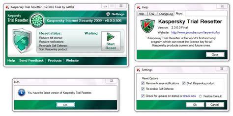 reset kaspersky manually kaspersky trial resetter v2 3 0 0 restmasetu s diary