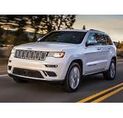 2017 Jeep Grand Cherokee Summit Front Quarter Left Photo