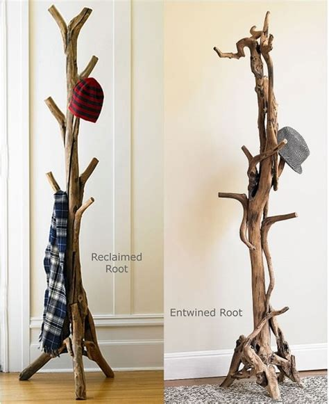 Stand Up Coat Rack by Vivaterra Root Coat Stand Eclectic Coatracks And