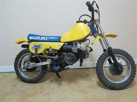 Suzuki It50 Motorcycle Junkie 1993 Suzuki Jr50 Restoration