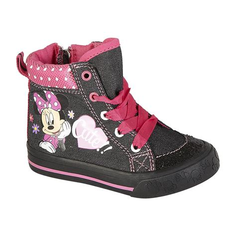 best toddler sneakers toddler minnie high top sneaker boot disney fashion