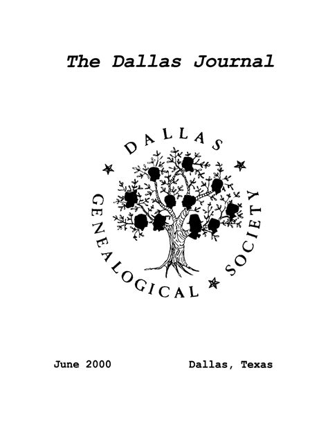 dallas entertainment journal the best of dallas the dallas journal volume 46 2000 page front cover