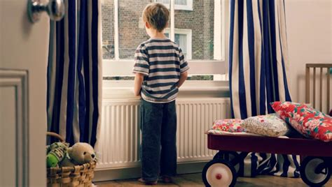 is it ok to leave your child home alone babble