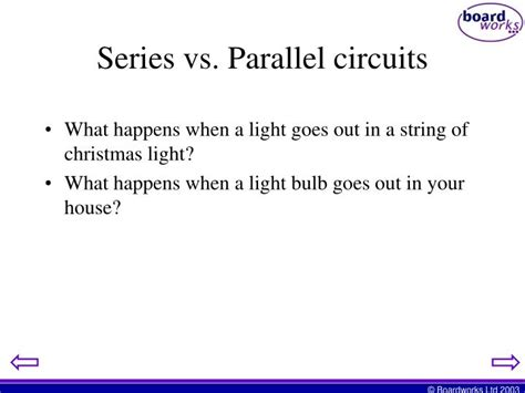 parallel circuits vs ppt series and parallel simple circuits powerpoint presentation id 2317148