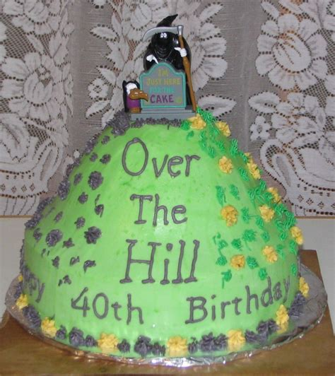 Over The Hill Cakes De Ion  Ee  Ideas Ee   Little  Ee  Birthday Ee   Cakes