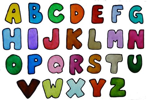 printable letters with color the alphabet worksheets releaseboard free printable