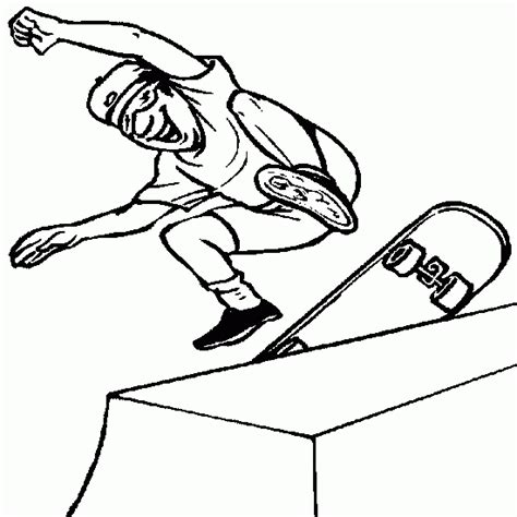 Coloring Pages For Kids Skateboard Coloring Pages Skateboard Coloring Pages