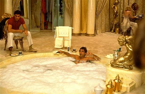 bathtub scenes scarface watch my back 1983 dutch mega yachts