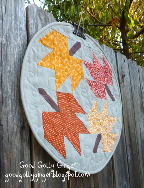 good golly ginger goodgollyginger good golly ginger falling leaves placemat