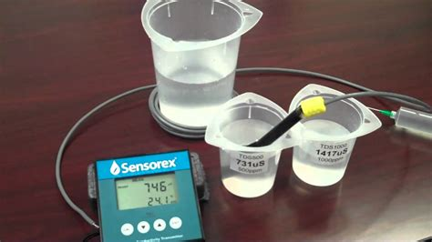 how to m how to calibrate your conductivity sensor youtube