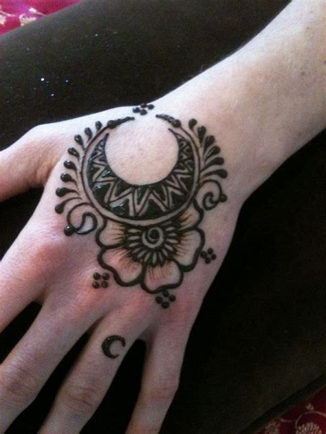 moon and star henna tattoo henna designs moon and makedes