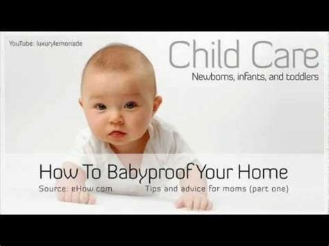 How To Baby Proof Your Luxurylemonade How To Baby Proof Your Home Part 1