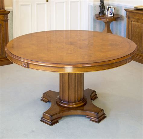 extendable round dining table make an extendable round dining table
