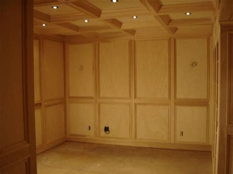 images  paneled walls  coffered ceiling