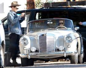 Mercedes Katy Katy Perry And Mayer Cruise Around In A Vintage