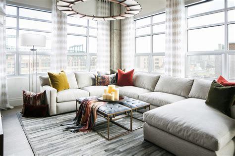 denver loft style living  robeson design homeadore