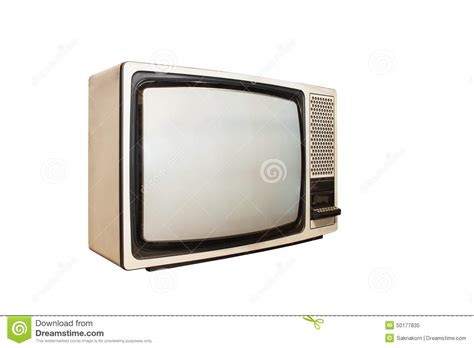 Or Tv Vintage Tv Or Television Stock Photo Image 50177835