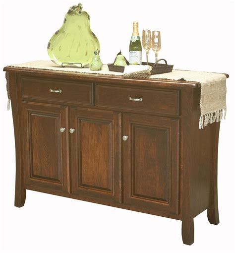 dining room servers sideboards amish berkley dining room sideboard buffet server solid wood 3 door ebay