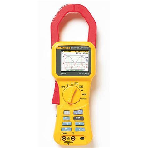 Murah Power Quality Tester fluke 345 single phase power quality cl meter at the test equipment depot