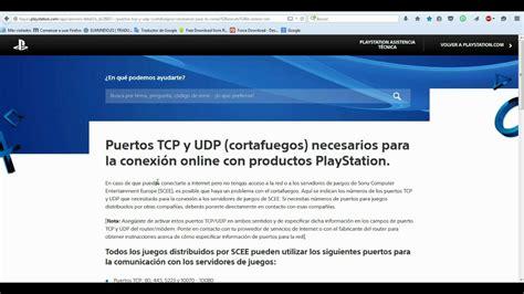 tutorial abrir nat ps4 tutorial c 243 mo abrir los puertos en ps3 y ps4 youtube