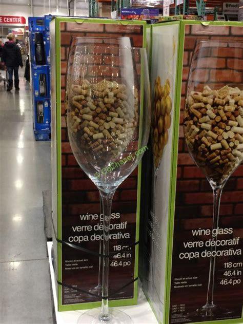 Oversized Home Decor 47 wine glass costcochaser