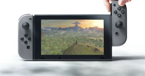 Switch Nintendo The Nintendo Nx No Longer Shrouded In Secrecy The Reveal Trailer For Nintendo Switch