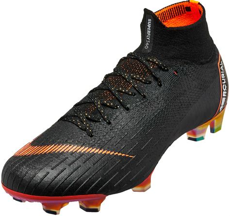 Nike Mercurial Superfly Elite nike superfly 6 elite fg black total orange soccerpro