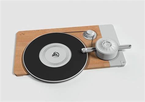 minimalist turntable minimalist record players turntable design