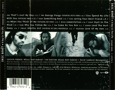 Slaughter Back To Reality 1cd 1999 promo import retail cd singles albums eric benet a day in the cd lp 1999