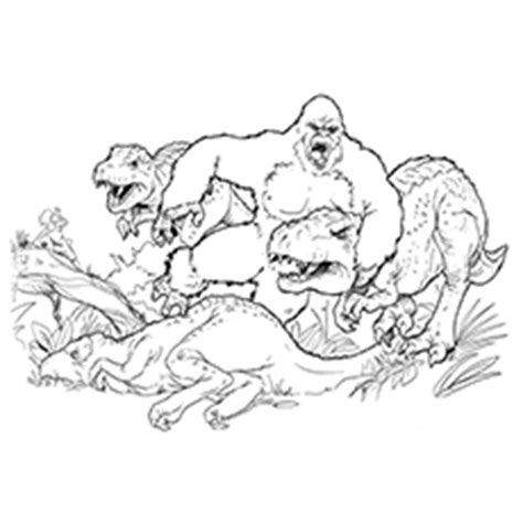 Top 10 King Kong Coloring Pages For Toddlers King Kong 2017 Coloring Pages