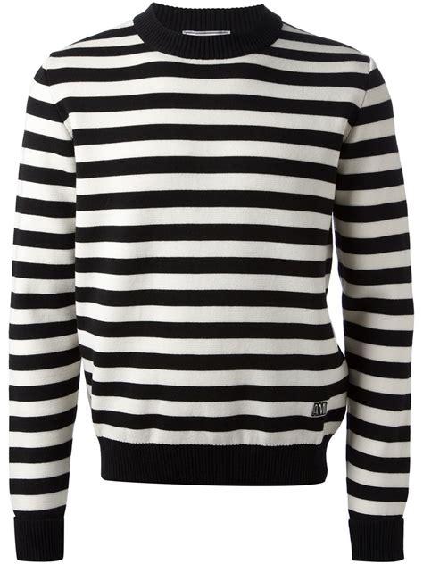 White Black Stripe Sweater 19944 black striped sweater aztec sweater dress