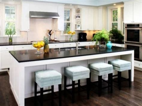 eat at island in kitchen 30 kitchen islands with seating and dining areas digsdigs