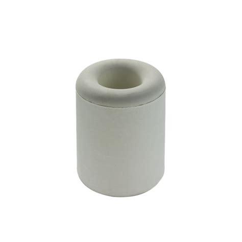 adoored 34mm white rubber door stop bunnings warehouse