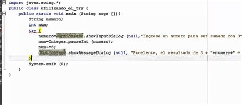 tutorial java try catch manejo de excepciones try catch java youtube