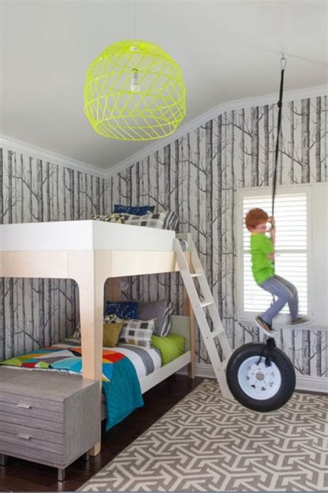 41 awesome rooms with wallpapers kidsomania