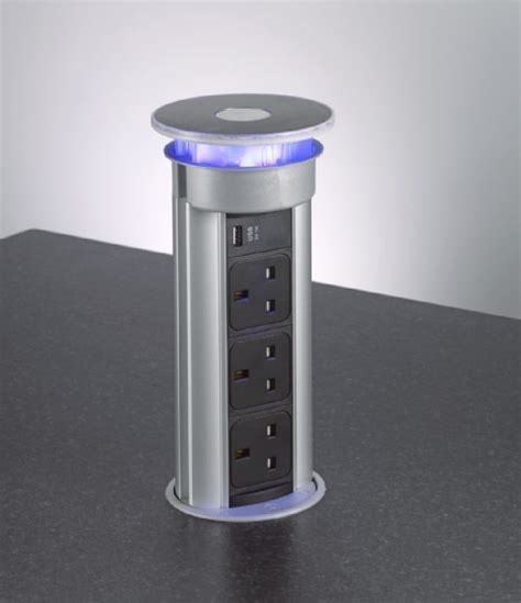 Pop Up Electrical Sockets For Kitchens pop up kitchen socket power tower plugs buy box15