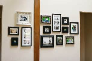 our wall of frames