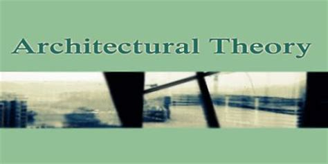 architectural theory architectural theory assignment point